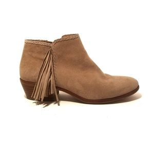 Sam Edelman Suede Paige Tan Ankle boot